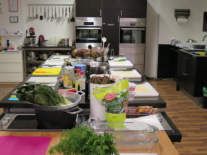Kochkurse - TCM Ernährungsberatung - Küche mieten, Kochstudio, Kochschule die Pause am Spittelberg
