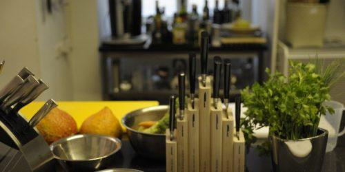 Kochkurs im Kochstudio die Pause