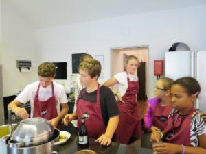 Kochkurs mit Jugendlichen, Geburtstagskochkurs für Kinder