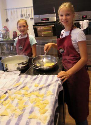 Teenager Kochkurs, Italienische Küche, Gusto Italiano