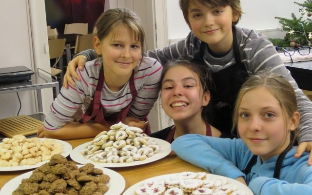 Keksbackkurs für Teenager