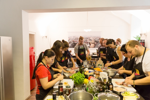 Kochkurse in Wien, Kochstudio die Pause