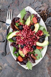 Leichte Sommerküche, Superfood, TCM Küche, 5- Elemente Salat