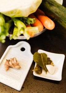 Vegetarische Küche der Achtsamkeit