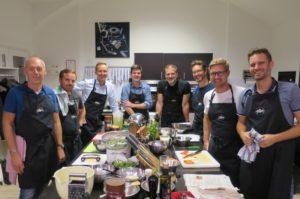 Kochkurs für Männer, Teambuilding Kochen