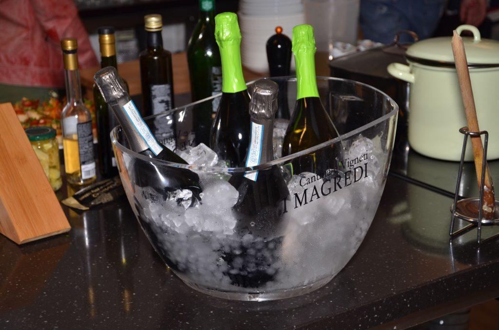 Weinkkost mit Weingut I Magredi