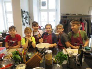 Kochen mit Kindern, Kinderkochkurs