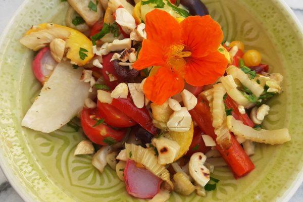 Vegetarische Küche, Gemüsesalat
