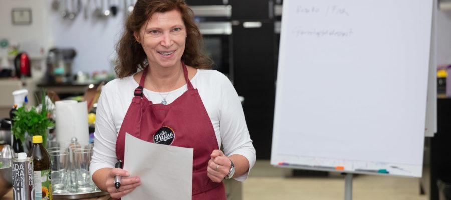Seminar mit Sabine Dobesberger; Kochkursleiterseminar